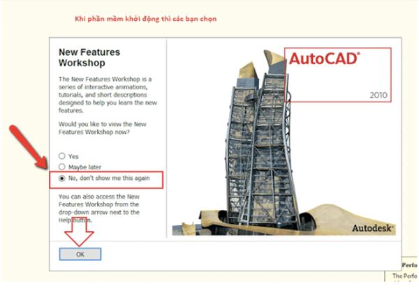 hướng dẫn active autocad 2010