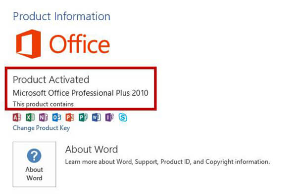 active ms office 2010