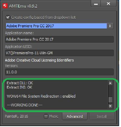 kích hoạt Adobe Premiere Pro CC 2017
