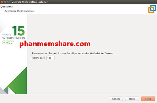 cài đặt VMware Workstation 15 trên linux