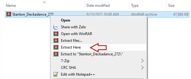 giải nén phần mềm Deckadance 2.72