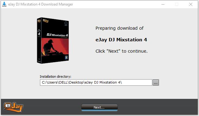 cài đặt phần mềm DJ Mixstation