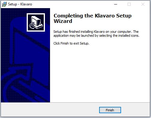 cài đặt phần mềm Klavaro