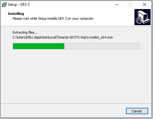 cài đặt phần mềm PCDJ Dex Pro